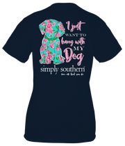 Simply Southern Short Sleeve Tee - Dog (Youth)