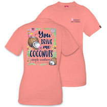 YOUTH Simply Southern SS Tee - Coconut