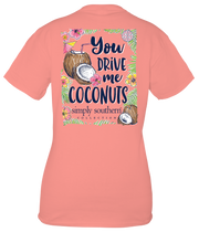 Simply Southern Short Sleeve Tee - Coconut (Youth)
