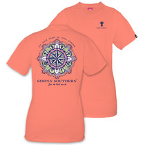 YOUTH Simply Southern SS Tee - Compass