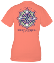 Simply Southern Short Sleeve Tee - Compass (Youth)