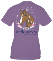 Simply Southern Short Sleeve Tee - Horse (Youth)