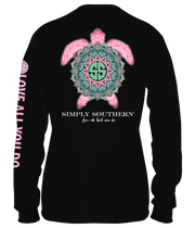 Simply Southern Long Sleeve Tee - Boho Turtle