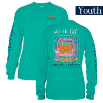 YOUTH Simply Southern LS Tee - Fall
