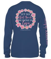 Simply Southern Long Sleeve Tee - Let All