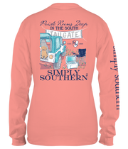 Simply Southern Long Sleeve Tee - Tailgate