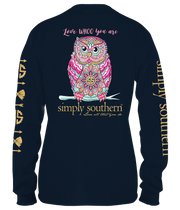 Simply Southern Long Sleeve Tee - Whoo