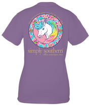 Simply Southern Short Sleeve Tee - Unicorn YOUTH