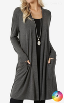 Tori Slouchy Pocket Cardigan