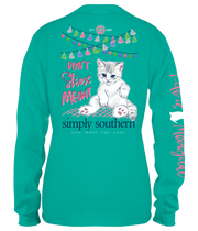 YOUTH Simply Southern LS Tee - Meowt