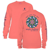 YOUTH Simply Southern LS Tee - Magic