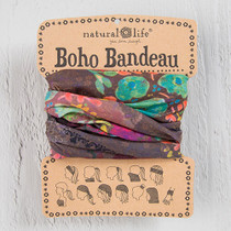 Boho Bandeau Headband - Espresso