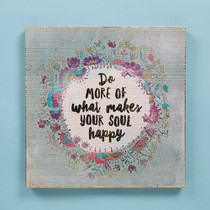Bungalow Keepsake Wall Art - Soul Happy
