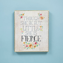 Bungalow Keepsake Wall Art - She's Little