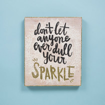 Bungalow Keepsake Wall Art - Sparkle