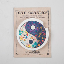 Car Coaster - Yin Yang