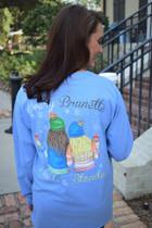 Blonde Brunette LS Tee
