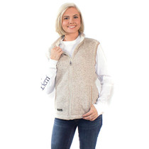 Simply Southern Knit Vest - Pebble