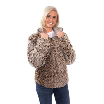 Simply Southern Sherpa Pullover - Mocha