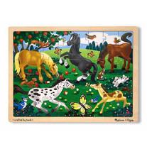 Jigsaw Puzzle Set - Frolicking Horse