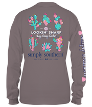 Simply Southern LS Tee - Sharp