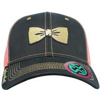Simply Southern Ballcap - Bow Mesh - Pink