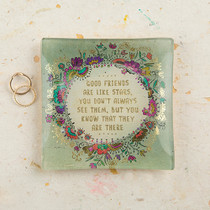 Good Friends Square Glass Tray
