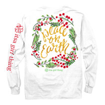 Peace On Earth Long Sleeve Tee