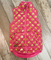 YOUTH Simply Southern Quilted Vest - Pink