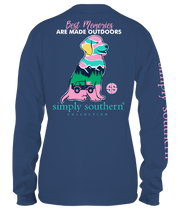 Simply Southern Long Sleeve Tee - Preppy Out