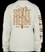 Simply Southern LS Tee - Preppy Deer Logo