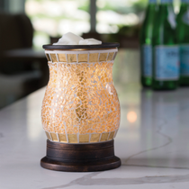 Glass Mosaic Warmer - Gilded Glass