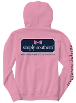 Simply Southern LS Hood - Bow Logo