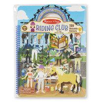 Puffy Sticker Activity Book - Riding