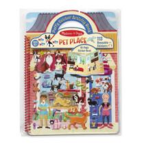 Puffy Sticker Activity Book - Pet