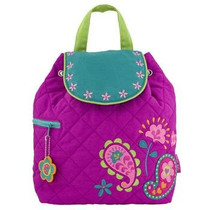 Quilted Backpack - Paisley Garden