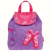 Quilted Backpack - Ballet Shoes