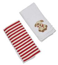 Burp Cloth Gift Set - Max Puppy