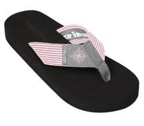 Grey Compass Flip Flop