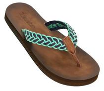 Tallulah Flip Flops - Green