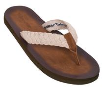 Tallulah Flip Flops - Cream