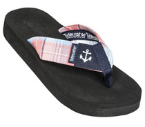 Madras Anchor Flip Flop