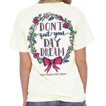Don't Quit Your Day Dream SS Tee - Ivory