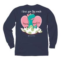 It's Dino Love LS Tee