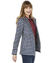 Striped New Englander Rain Jacket