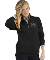 Crosswind 1/4 Zip Pullover - Black