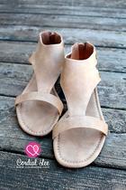 Monroe Mesa Sandals - Oatmeal