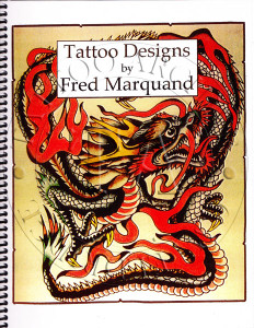 Line drawings from original designs by this Pacific Northwest tattooist, c 1930s, with biographical sketch.  40 pages  8 x 11