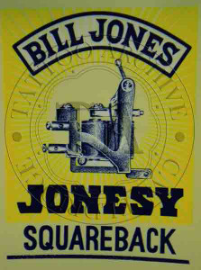 Bill Jones Machine Poster (Squareback)