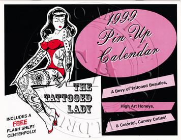 1999 Pin Up Calendar